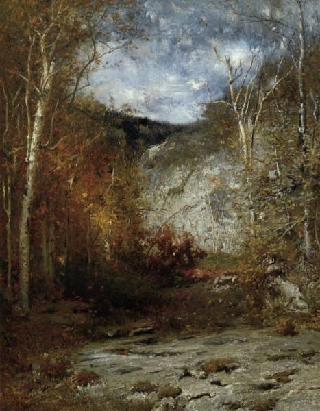 Rocky Ledge Adirondacks 1884